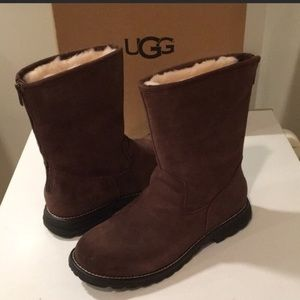 46859569266 UGG Shoes   New Ava Exposed Fur Boot 7 8 Or 9 Sale   Poshmark